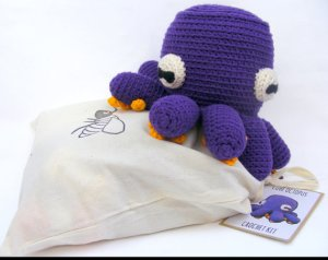 crochet octopus kit
